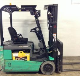 Used Mitsubishi 3 Wheel Forklift